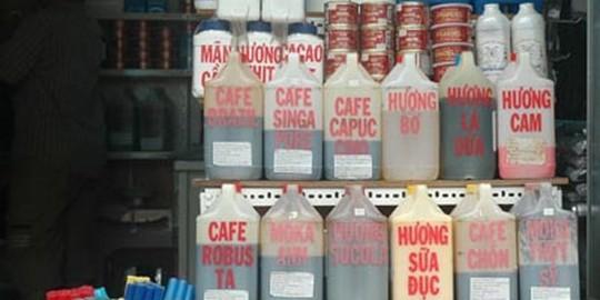 Hoá chất tạo mùi tất cả các loại cà phê bán công khai