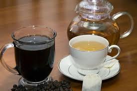 cà phê trà nóng