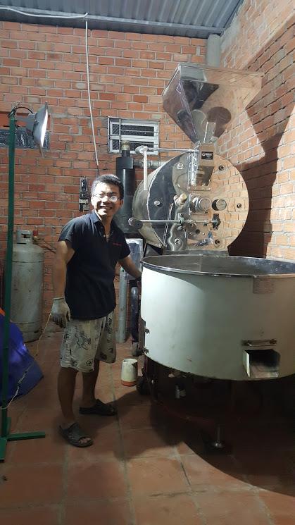 Máy rang cà phê 30kg
