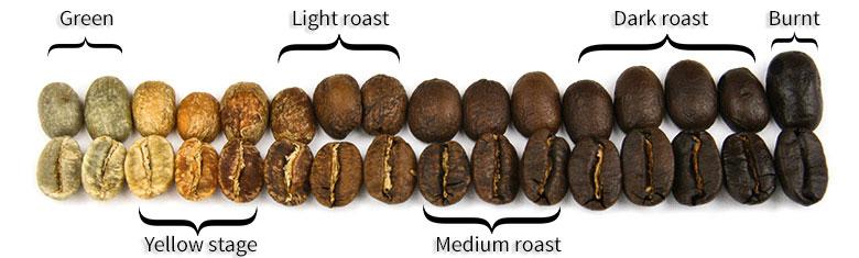 Màu cà phê thành phẩm chuẩn