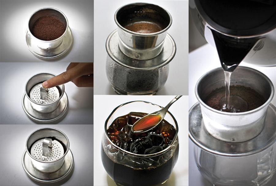 Các bước pha cà phê phin ngon