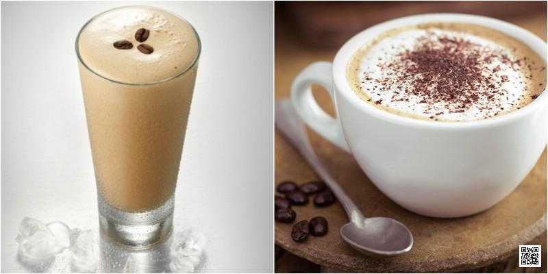Rắc cacao hoặc cà phê hạt