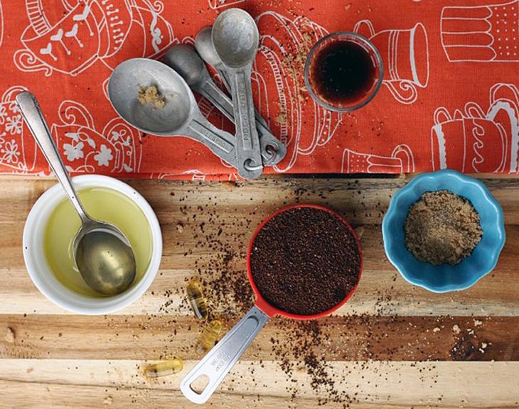 Cà phê nguyên chất giúp tẩy tế bào chết rất hiệu quả
